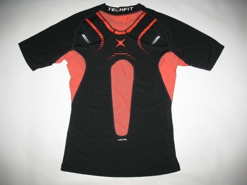 Футболка ADIDAS techfit climacool compression jersey (размер XL) - 1