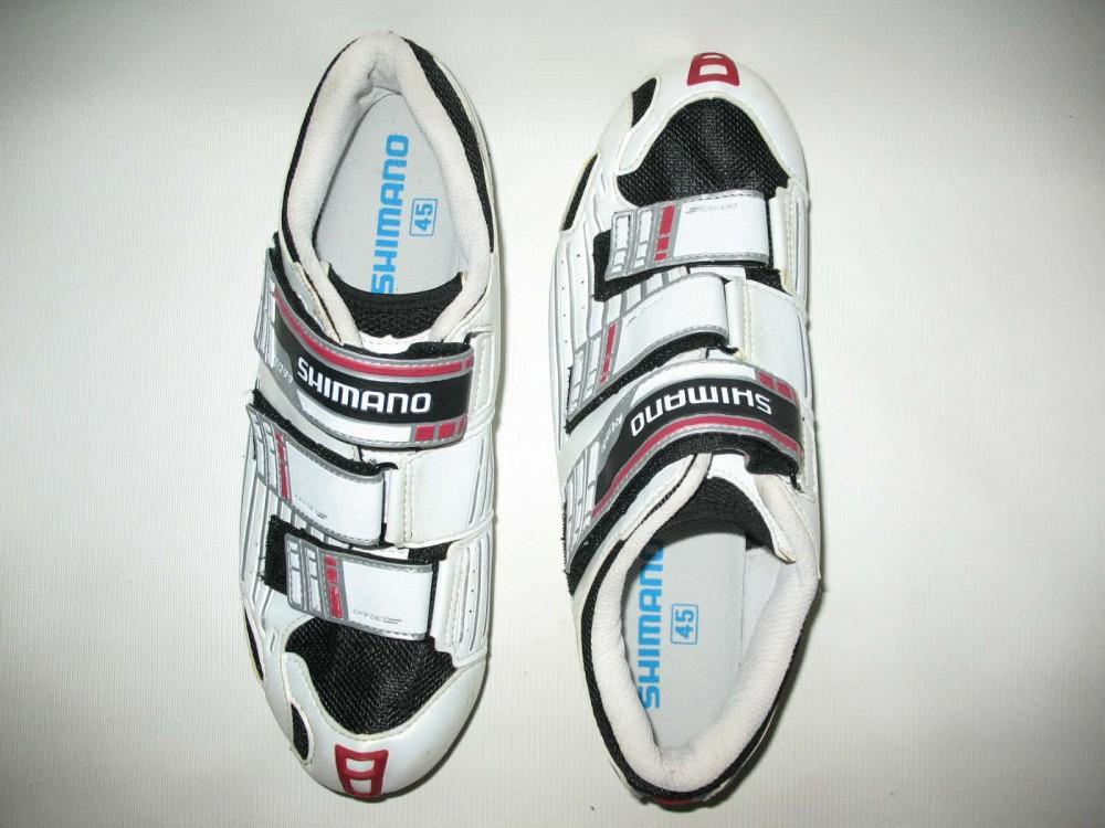 Велотуфли SHIMANO sh-r099 road shoes (размер US10,5/EU45(на стопу 285 mm)) - 4