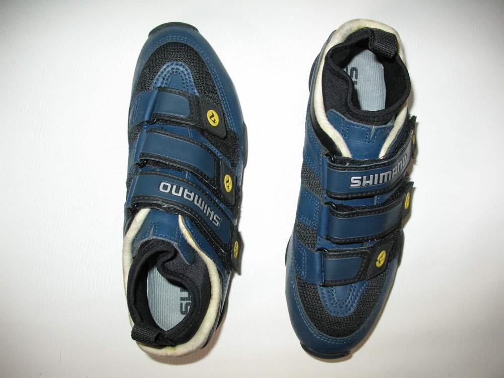 Велотуфли SHIMANO SH-M150 mtb shoes (размер UK5,5/EU38,5(на стопу до 240 mm)) - 5