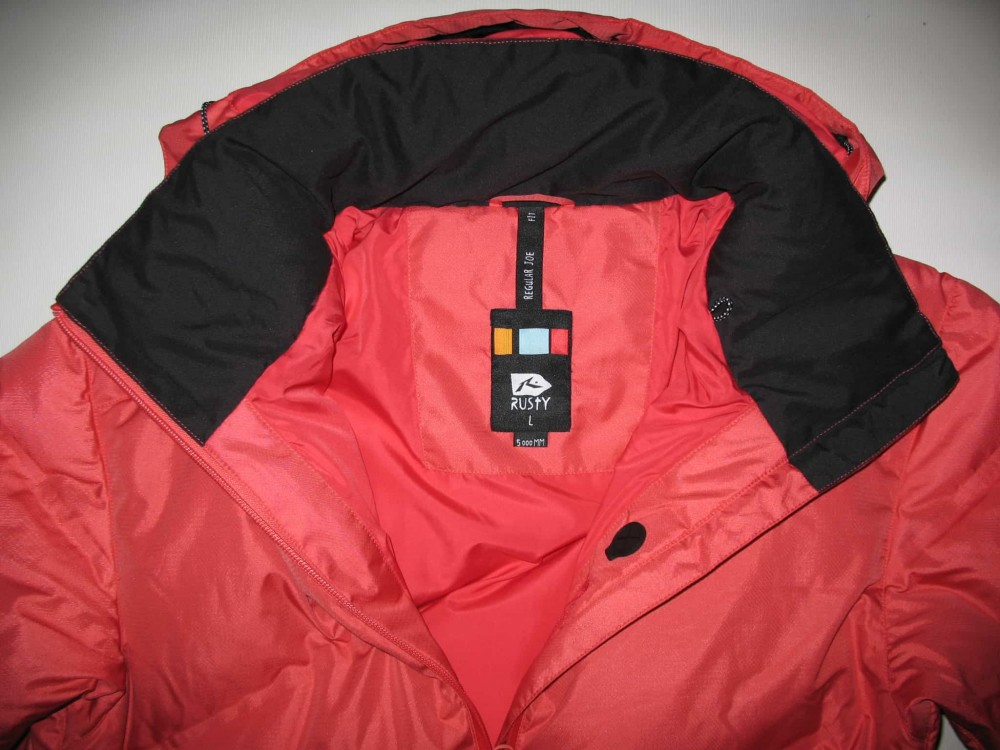 Куртка RUSTY snowboard down jacket   (размер L) - 5