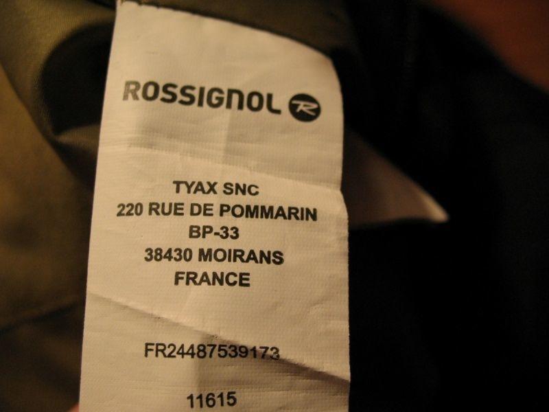 Штаны  ROSSIGNOL 5/5 pants  (размер S) - 9