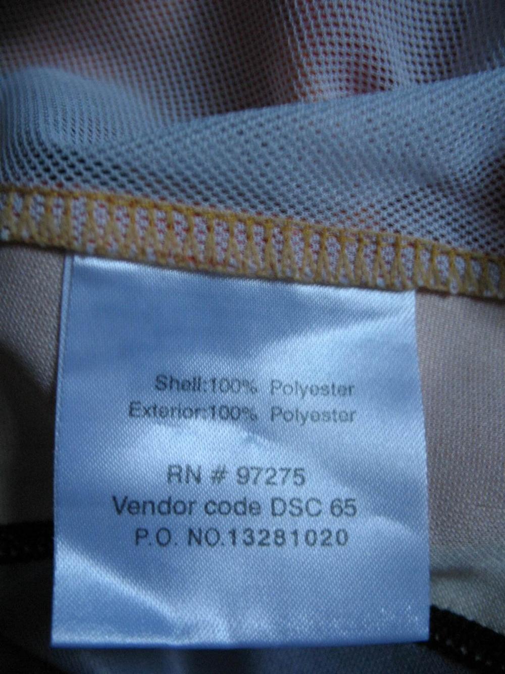 Веломайка FOX racing DH1 jersey (размер S/M) - 3