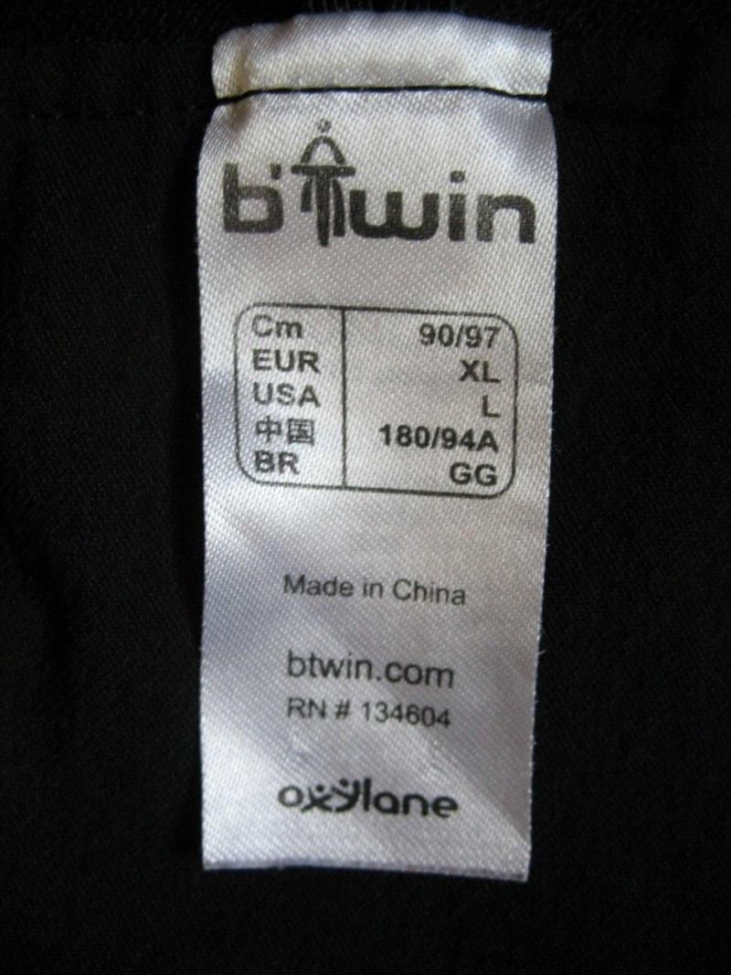 Шорты BTWIN rockrider Cycling Shorts (размер XL) - 7