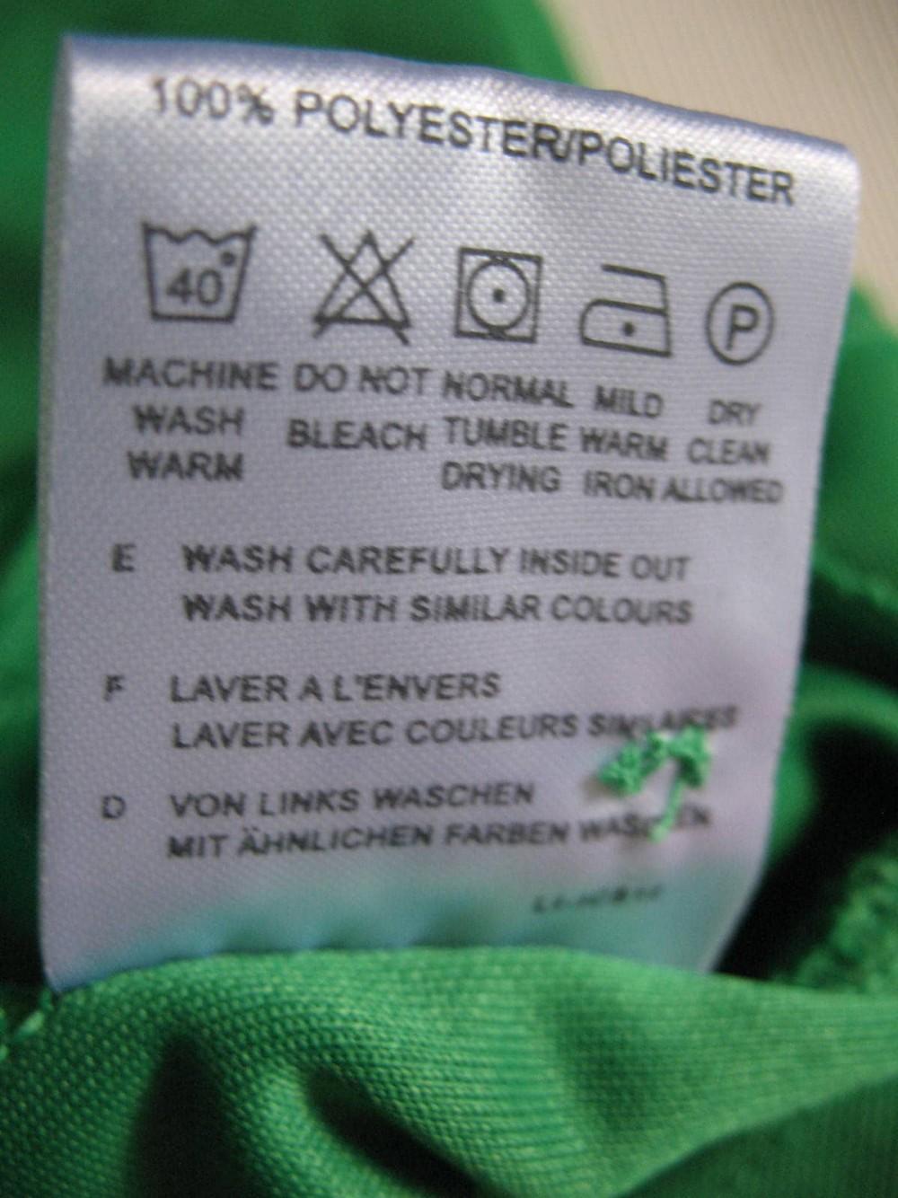 Футболка ODLO pins polo shirts (размер L) - 4