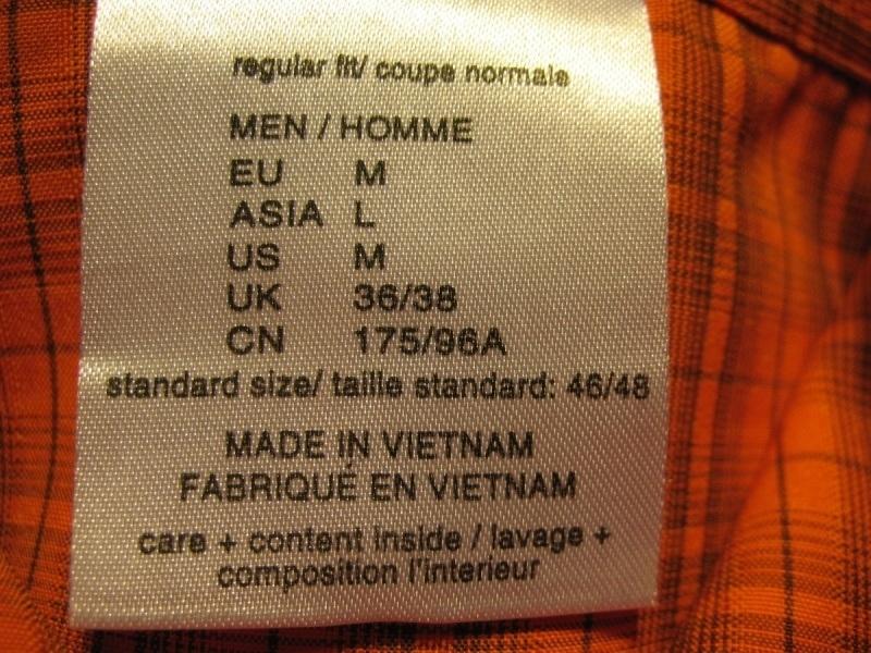 Рубашка JACK WOLFSKIN shirts (размер M/L) - 8