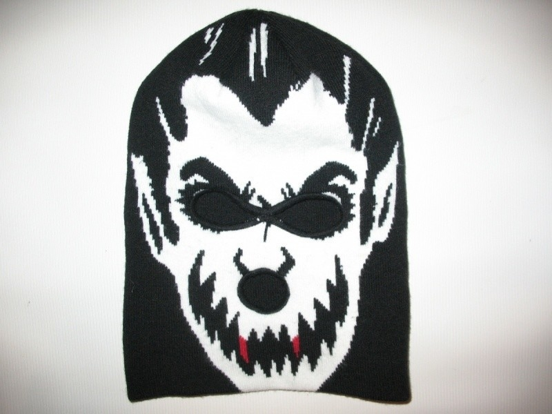 Шапка VOLCOM fear face mask beanie hat   (размер one) - 1