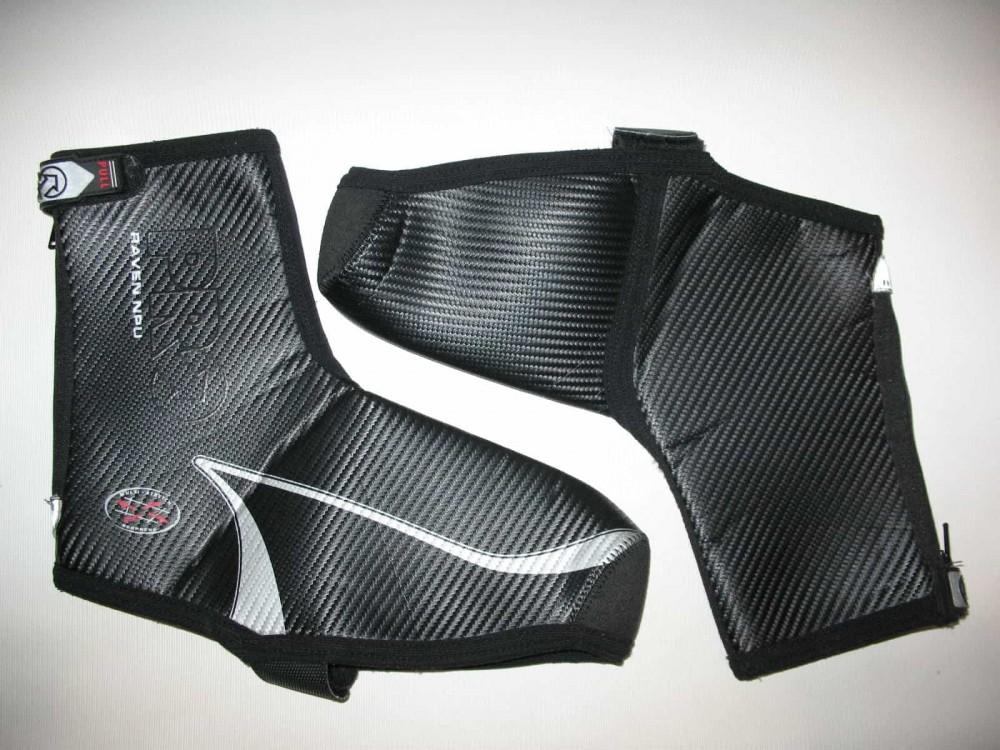 Велобахилы PRO raven NPU boot covers (размер 38-41) - 1