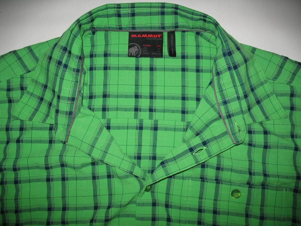 Рубашка MAMMUT belluno green shirt (размер XXL) - 3