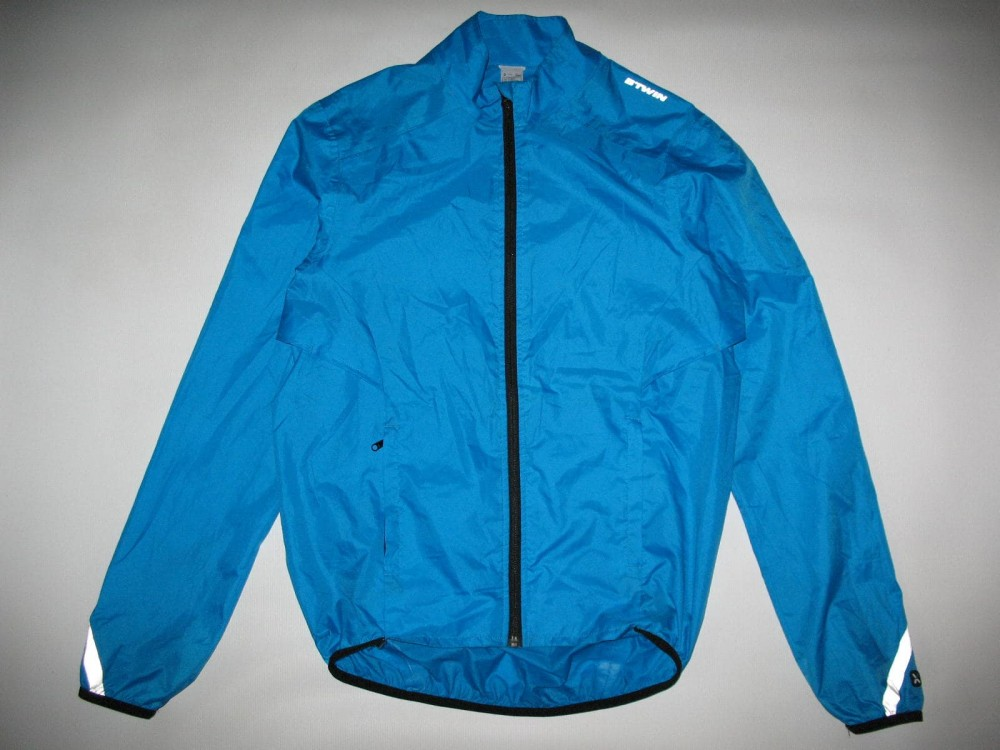 Куртка B'TWIN 300 waterproof cycling jacket (размер S/M) - 3