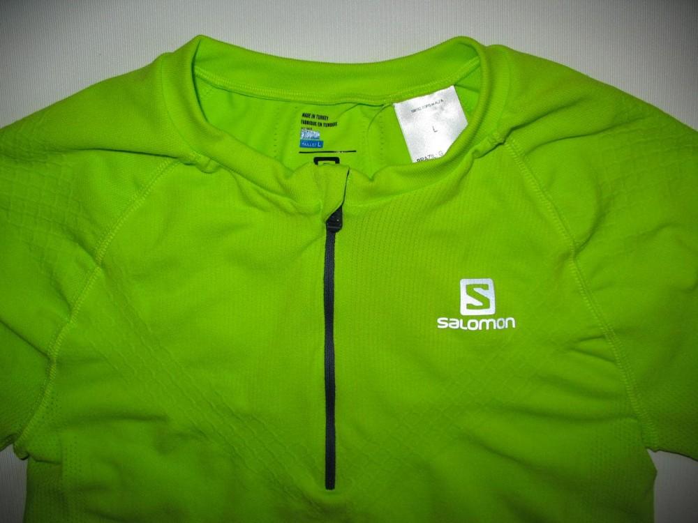 Футболка SALOMON exo motion ss jersey (размер L) - 6