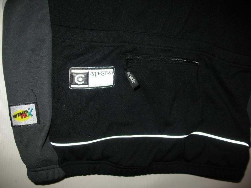Велокуртка SPECTRA windtex jacket (размер L/M) - 4
