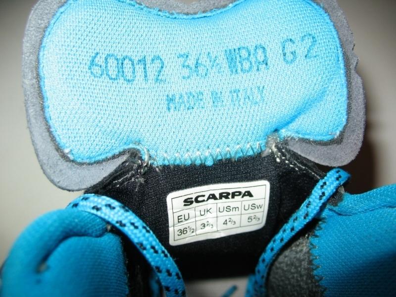 Ботинки SCARPA R-Evo Pro GTX lady (размер UK4/US5/EU36, 5(на стопу 230-235mm)) - 12