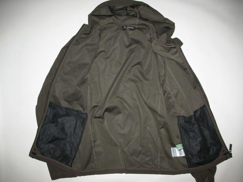 Куртка VAUDE   Hurricane II hood softshell jacket  (размер S/M) - 5