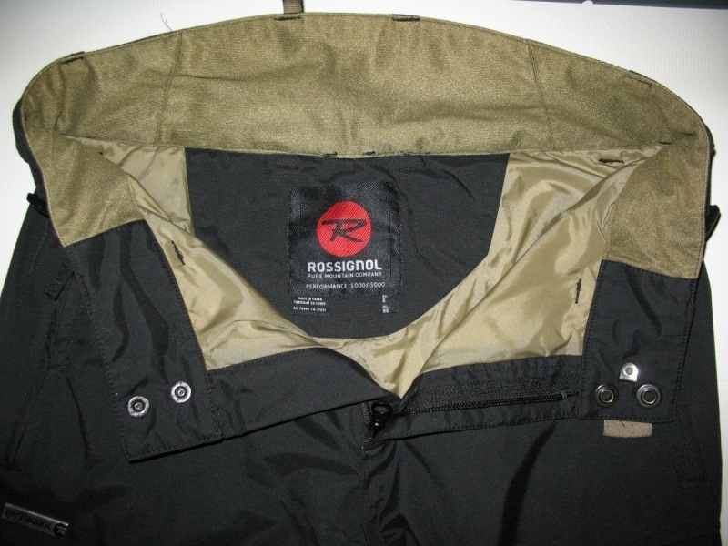 Штаны  ROSSIGNOL 5/5 pants  (размер S) - 4