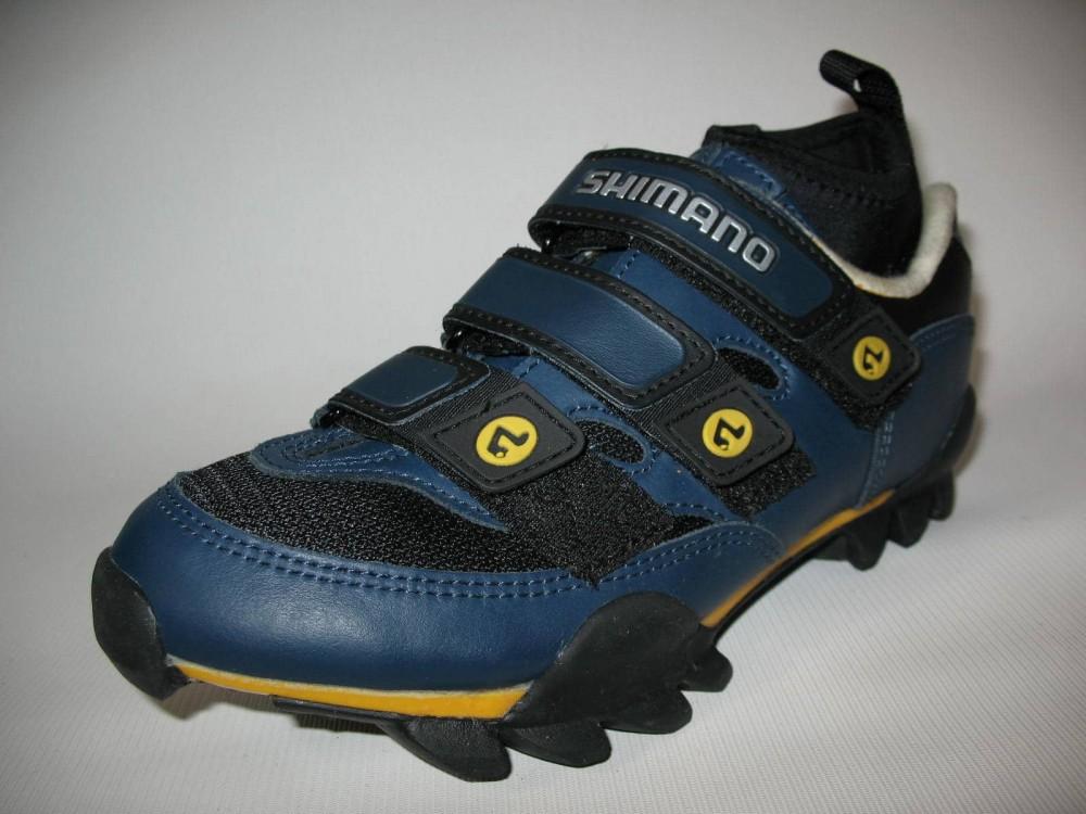 Велотуфли SHIMANO SH-M150 mtb shoes (размер UK5,5/EU38,5(на стопу до 240 mm)) - 1