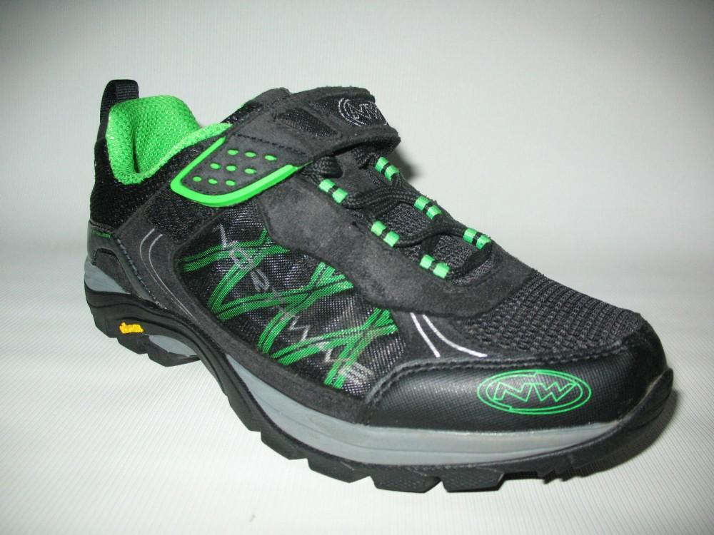 Велотуфли NORTHWAVE mission bike shoes (размер US9,5/UK8,5/EU42(на стопу до 270 mm)) - 4