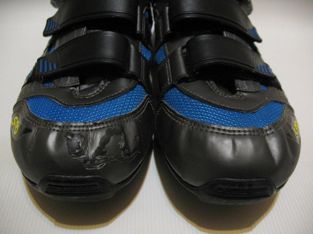 Велотуфли SHIMANO sh-m180g mtb bike shoes (размер UK12,5/EU47(на стопу до 298 mm)) - 11