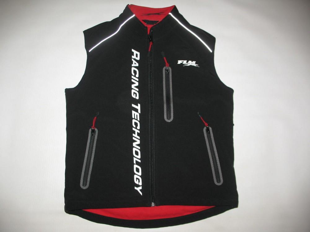 Жилет FLM sports softshell 1.0 vest (размер S) - 4