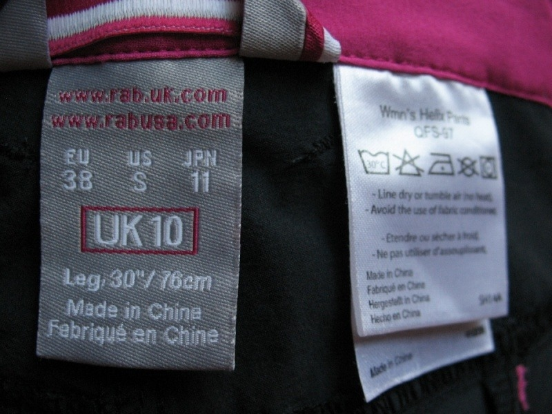 Штаны RAB Helix Cargo Pants lady (размер 38-S) - 14