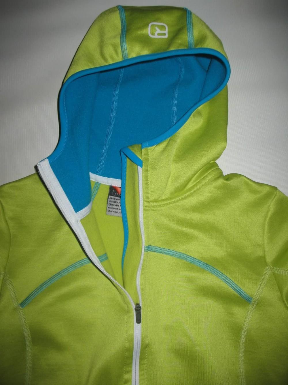 Кофта ORTOVOX merino fleece hoodies lady (размер S) - 4