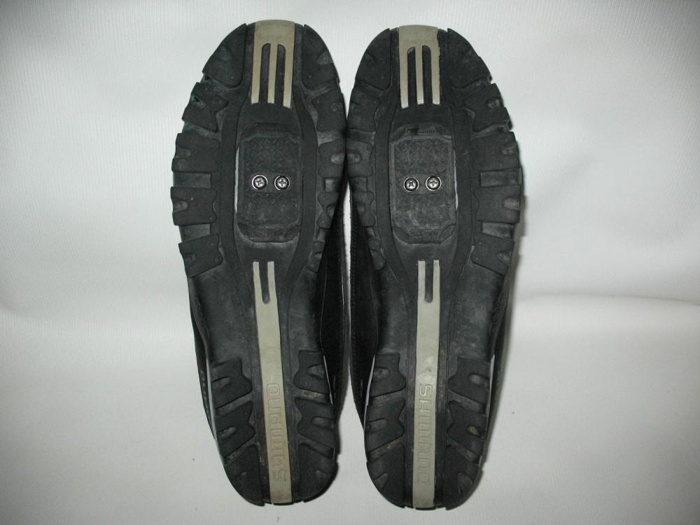 Велотуфли SHIMANO sh-mt30 mtb shoes (размер US13/EU48(на стопу до 305 mm)) - 7