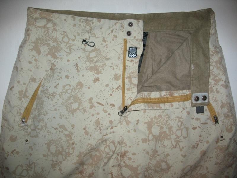 Штаны 686 Mannual Scull  pants  (размер XL) - 3