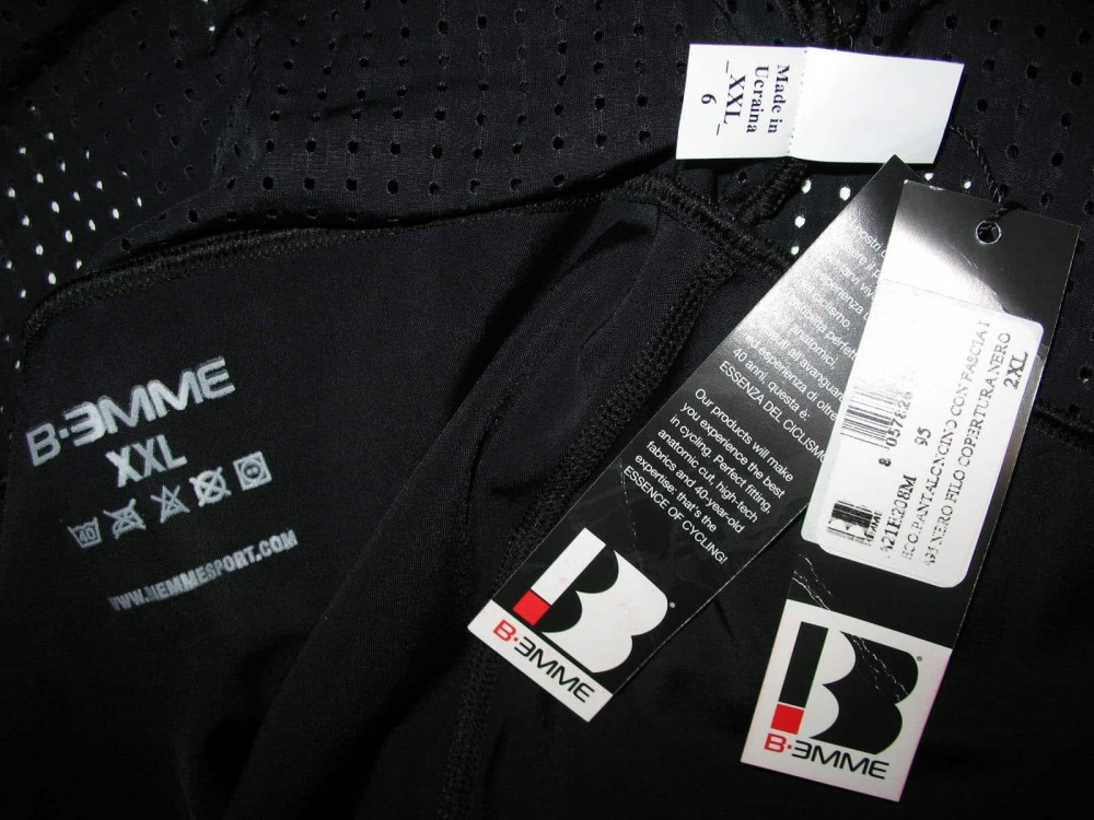 Велошорты BIEMME eco bib cycling shorts (размер XXL) - 5