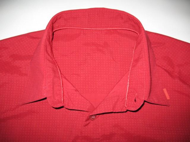 Рубашка MAMMUT red shirt (размер XL) - 2