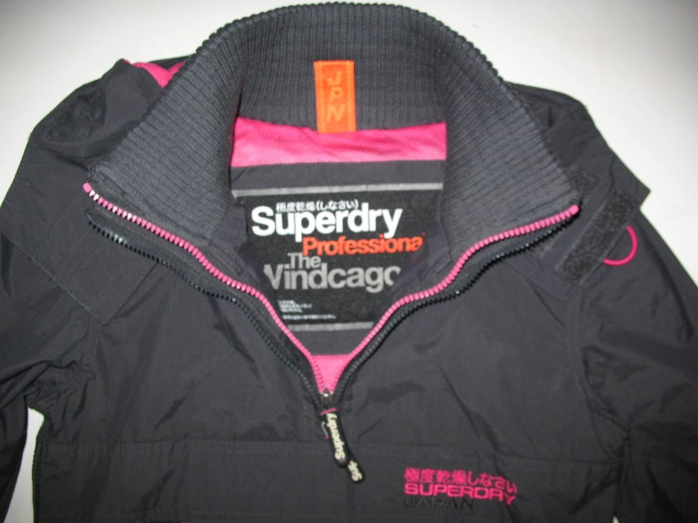 Куртка SUPERDRY Pop Zip Wind jacket lady (размер XS) - 7