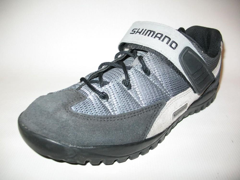 Велотуфли SHIMANO sh-m038 MTB shoes (размер US9;EU43(на стопу до 272 mm)) - 2
