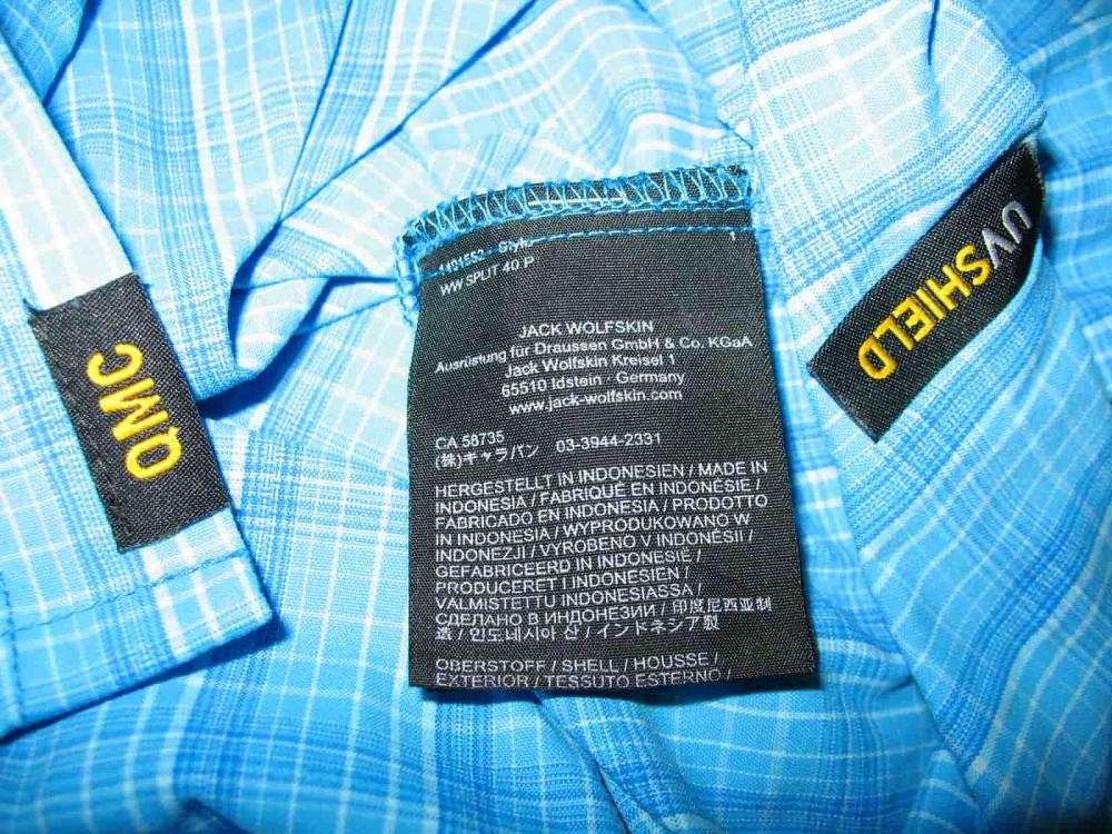 Рубашка JACK WOLFSKIN rays stretch vent shirt (размер XXXL/XXL) - 8