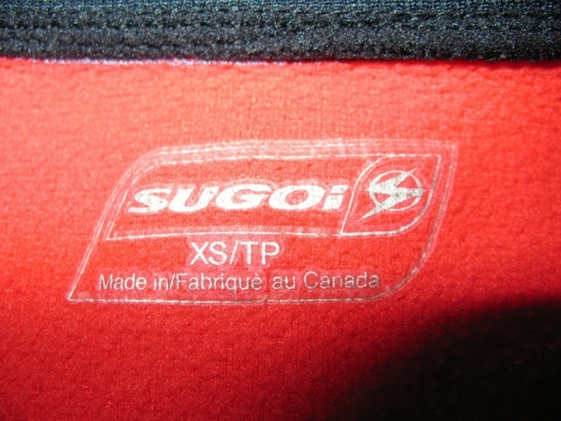 Кофта SUGOI bike fleece lady  (размер XS/S) - 4