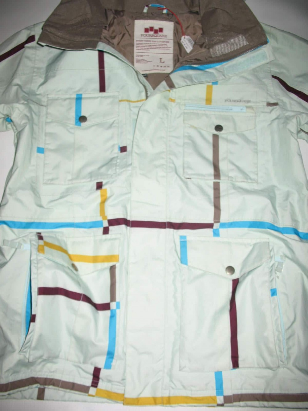 Куртка FOURSQUARE vise jacket (размер L) - 8