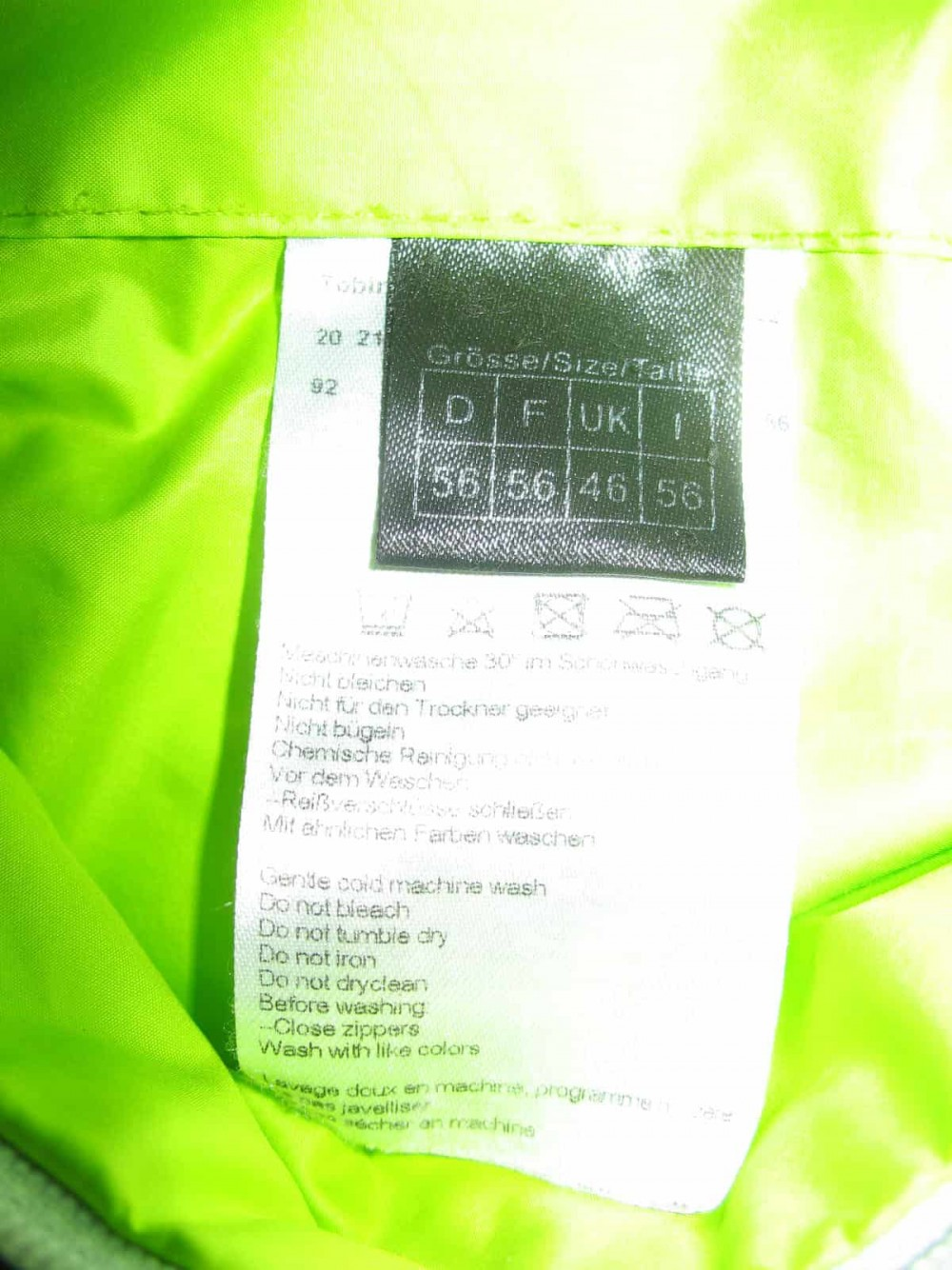 Куртка SCHOFFEL Tobin jacket (размер 56/XL) - 14