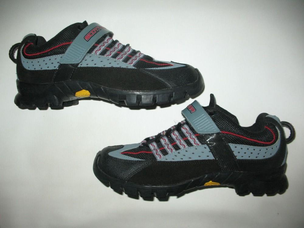 Велотуфли SCOTT vibram mtb bike shoes (размер US9/UK8/EU42(на стопу 265 mm)) - 2