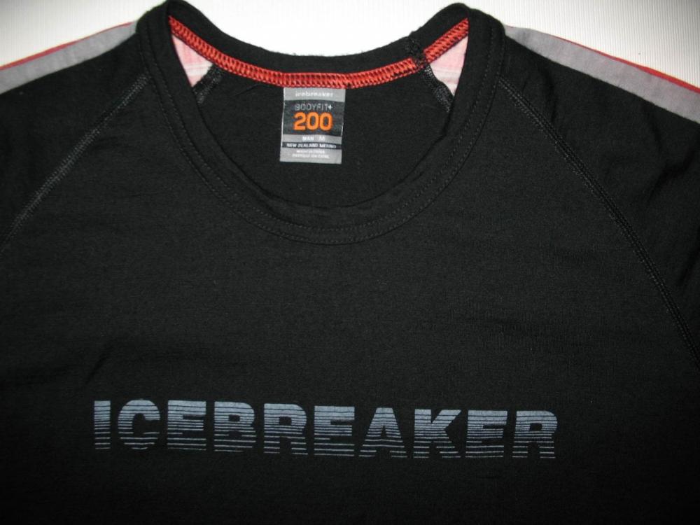 Термобелье ICEBREAKER lightweight bodyfit 200 jersey(размер М) - 2
