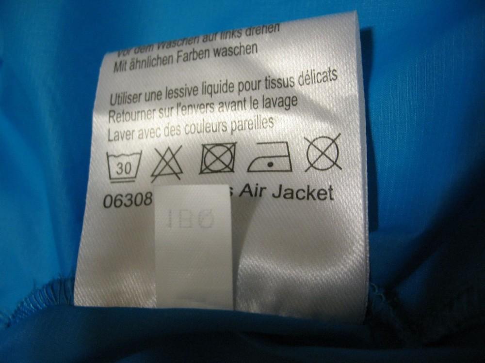 Куртка VAUDE air jacket blue lady (размер 34-XXS/XS) - 8