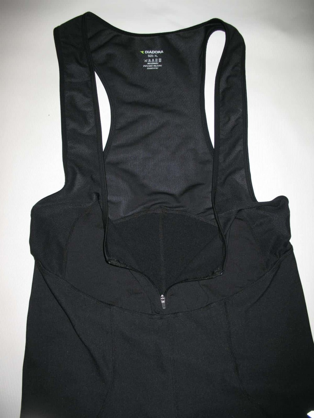 Велобрюки DIADORA cycling windstopper bib pants(размер XL/реально L) - 3