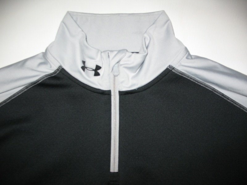 UNDER ARMOUR CG Fitted Hybrid Wind-block 1/4 Zip  (размер XL) - 4