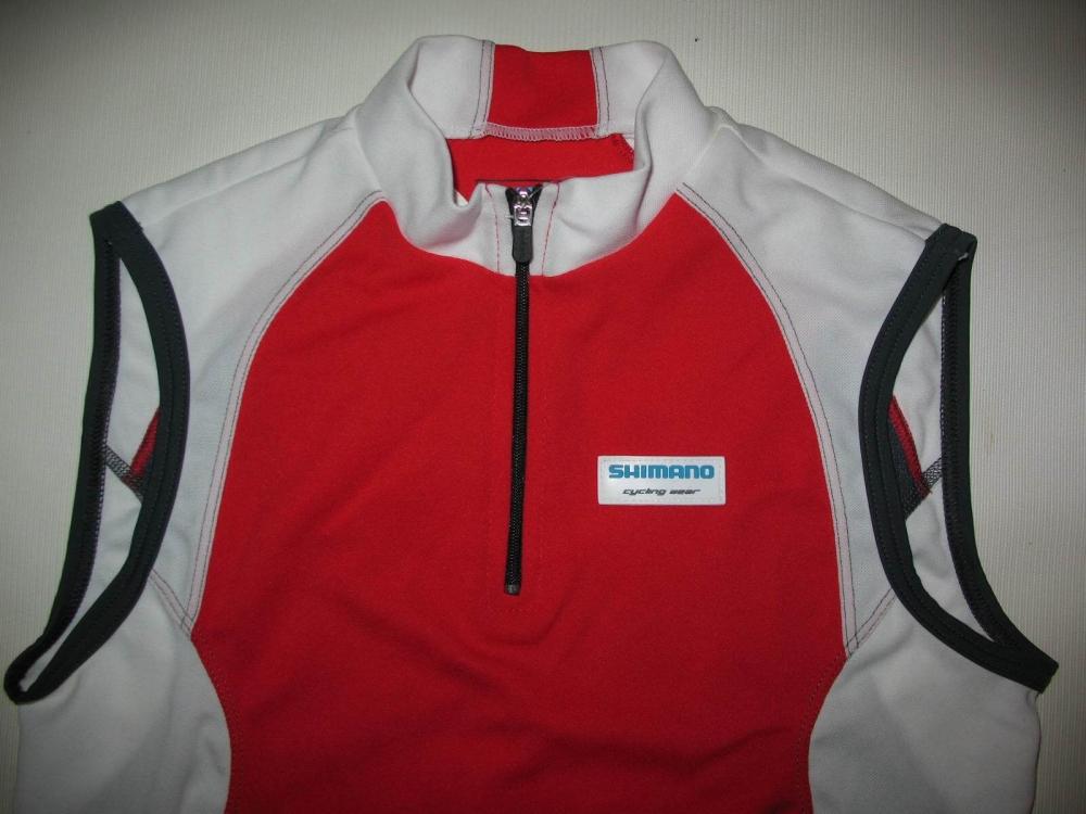 Веломайка SHIMANO sleeveless jersey lady (размер S) - 2