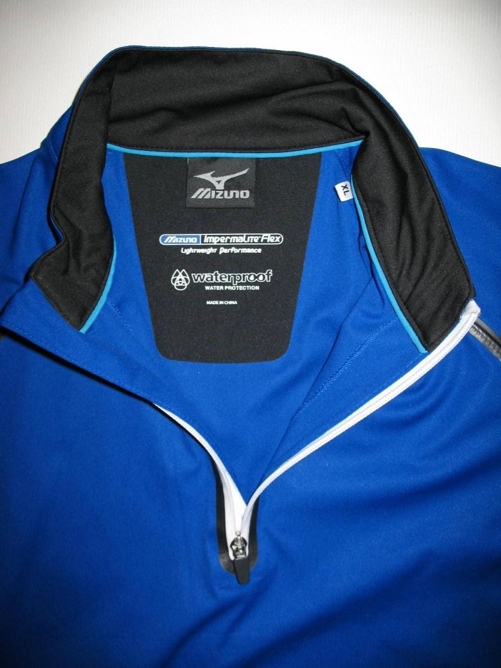 Куртка MIZUNO impermalite flex short sleeve rain jacket (размер XL/XXL) - 3
