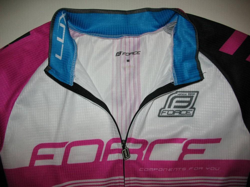 Велоджерси FORCE lux longsleeve cycling jersey lady (размер M) - 5
