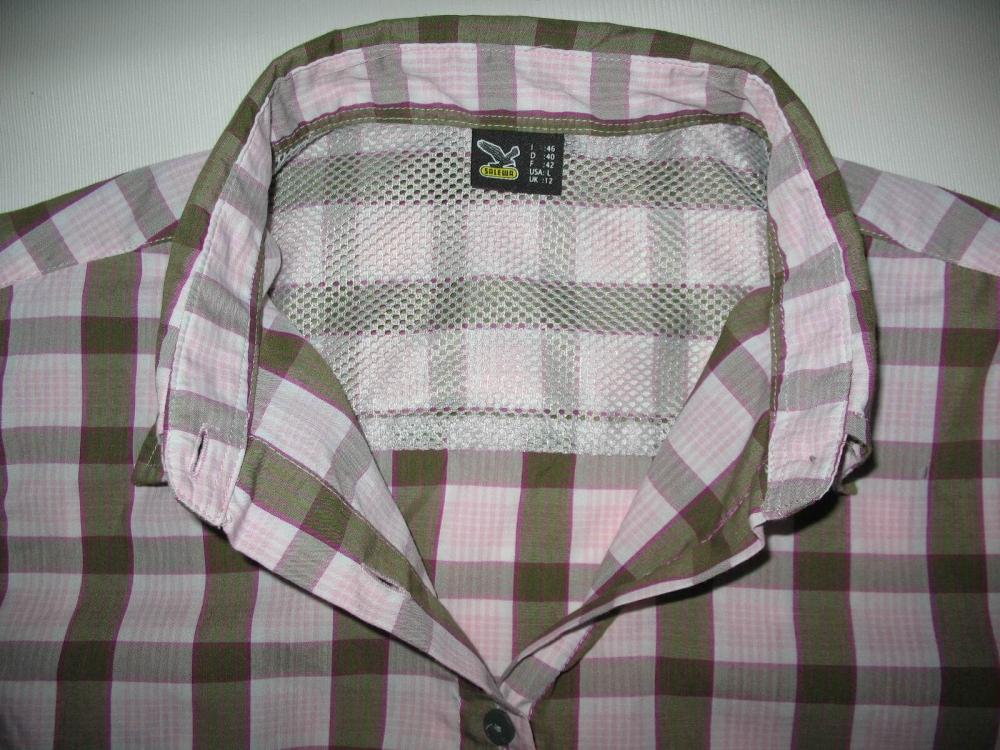Рубашка SALEWA Hannah Dry shirt lady (размер L) - 4