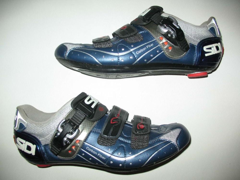 Велотуфли SIDI genius 5.5 carbon road shoes (размер EU42,5(на стопу 265mm)) - 2