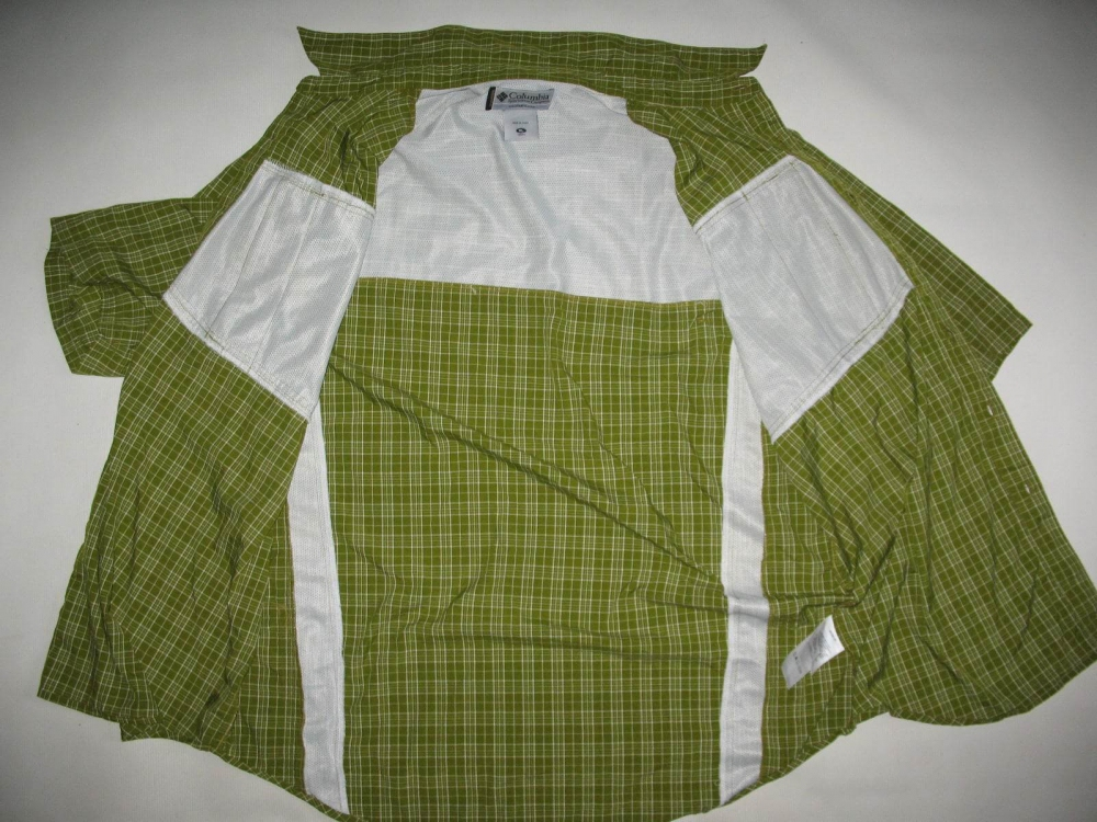 Рубашка COLUMBIA titanium green shirts (размер XL) - 6