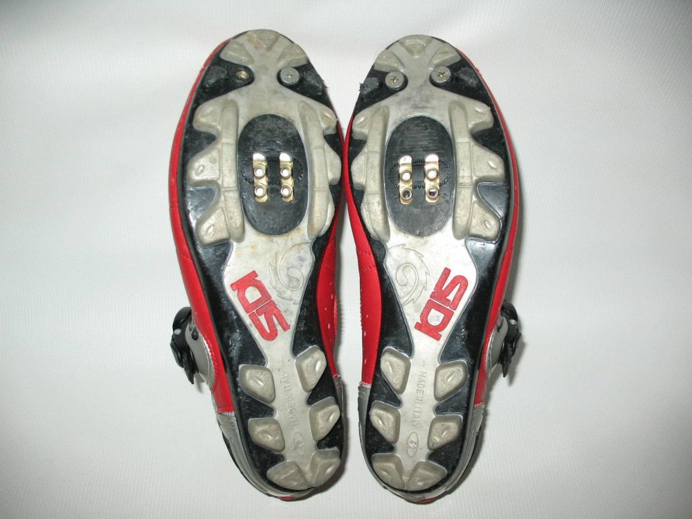 Велотуфли SIDI mtb red shoes (размер EU42(на стопу до 260 mm)) - 6