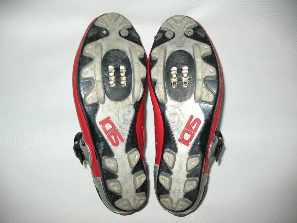 Велотуфли SIDI mtb red shoes (размер EU42(на стопу до 260 mm)) - 6