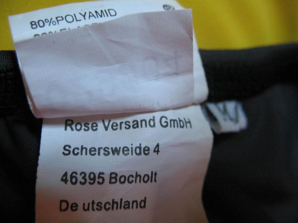 Футболка ROSE triathlon top shirt (размер M) - 4
