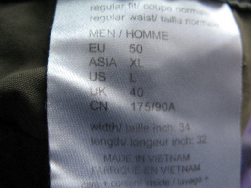 Штаны JACK WOLFSKIN Mosquito Safari Pants  (размер 34/50/L)) - 12