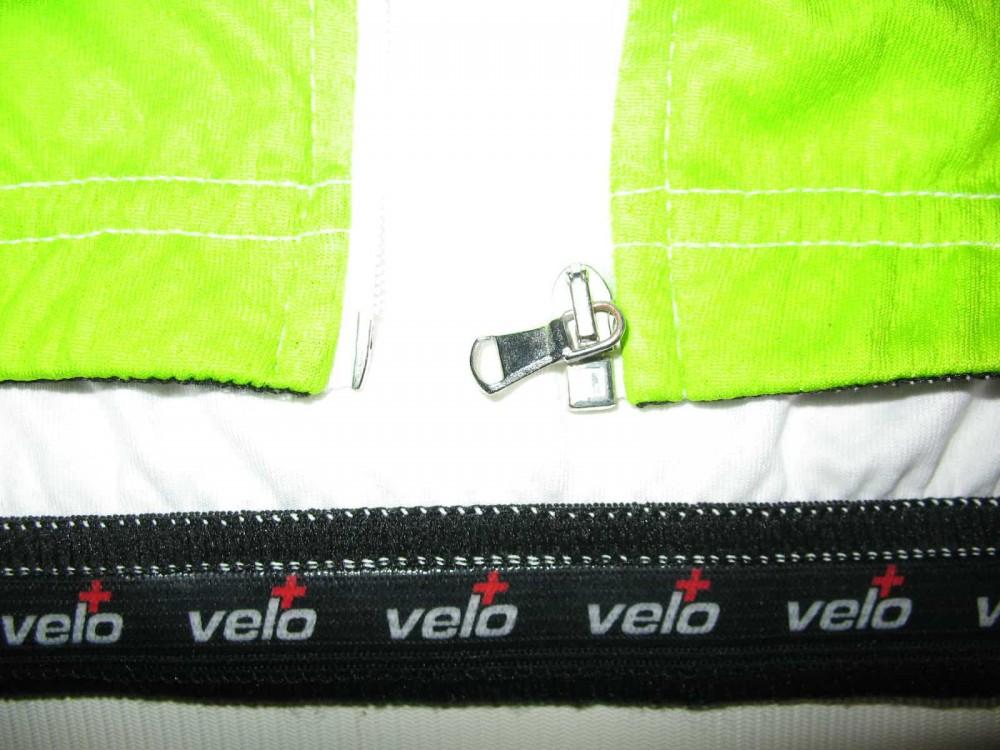 Веломайка VELO+ de rosa cycling jersey (размер L) - 3